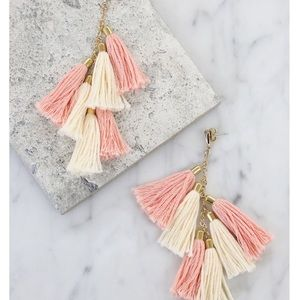 Ettika Day Dreamer Tassel Earrings